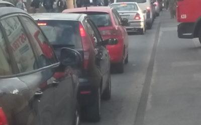 Keine Parkplätze mehr auf der Westseite des Opladener Bahnhofs! – Sperrung der Zufahrt verlief problemlos!