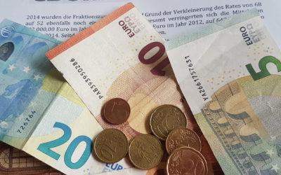 FDP Ratsgruppe verzichtet auf die beschlossene Erhöhung der Zuwendungen!